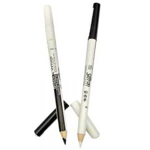 Saffron Black & White Kohl Eyeliner Pencil