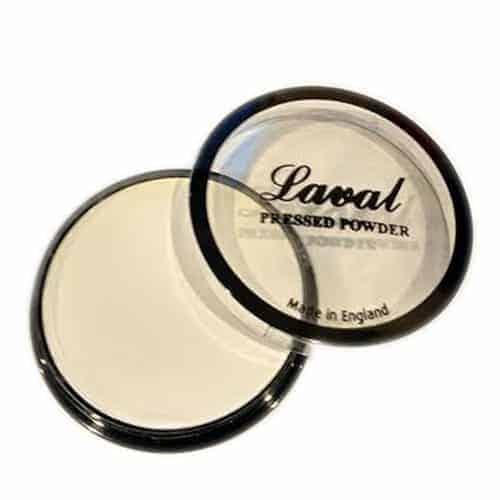 Laval Creme Powder Compact - White