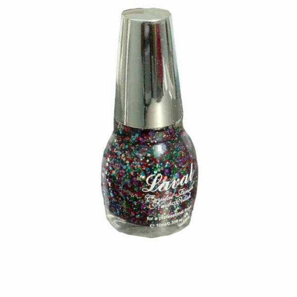 Laval Crystal Finish Nail Polish Multi Glitter