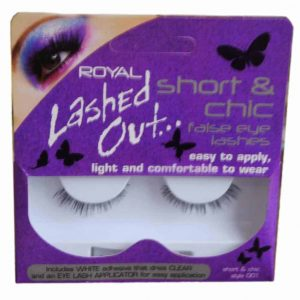 Royal 001 Lashed Out Eye Lashes Adhesive & Appilcator