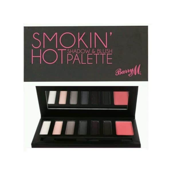 Barry M Smokin Hot Shadow & Blush Palette