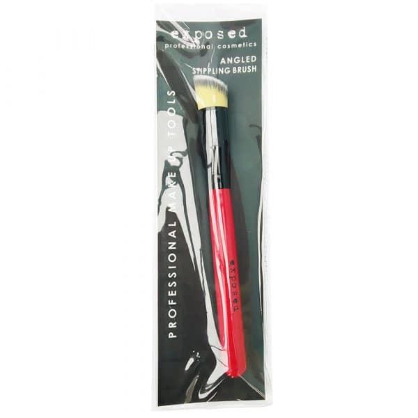 Exposed Angled Stippling Brush