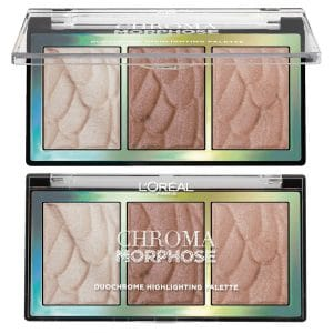 L'Oreal Chroma Morphose Duo Chrome Highlighting Palette