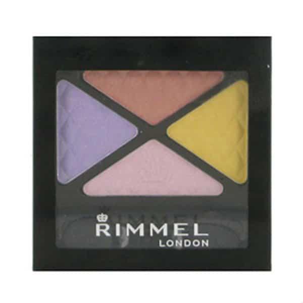 Rimmel Glam Eyes Quad Eyeshadow 025 Summer Bloom